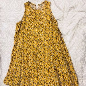 Adorable Yellow Floral Dress